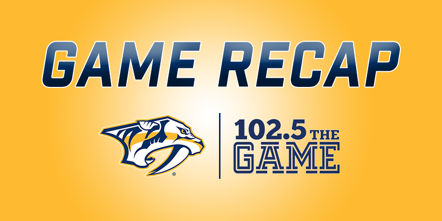 """Preds """"just stopped playing"""" in brutal Game 3 loss"""