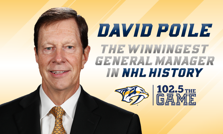David Poile now winningest GM in NHL history