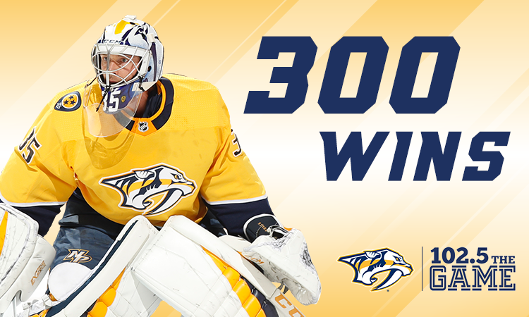 Pekka Rinne: 300 by the numbers