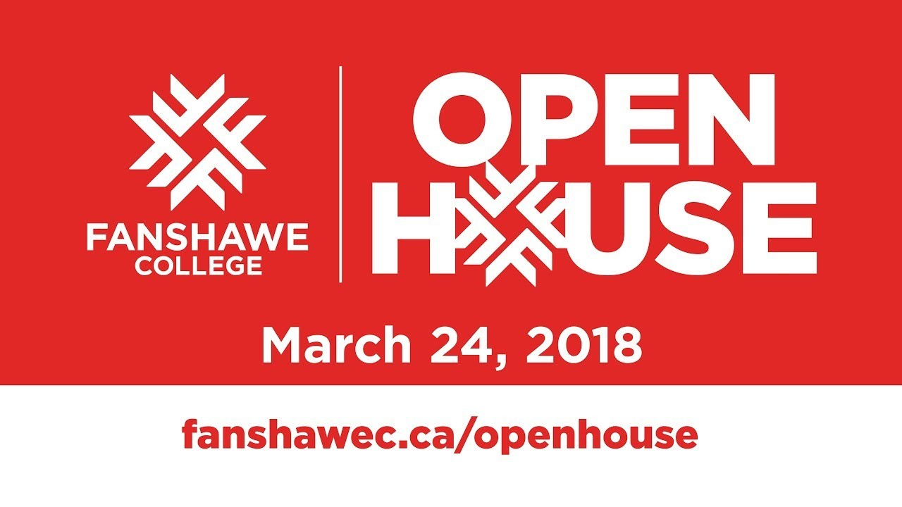 Fanshawe Open House this Saturday