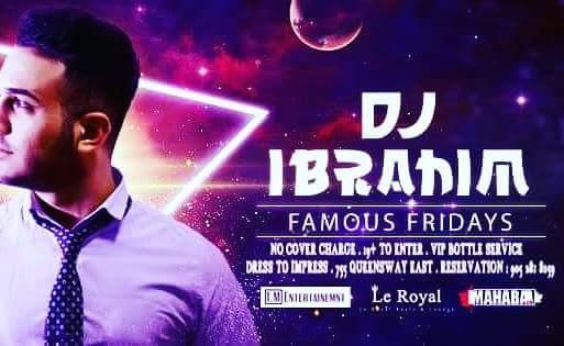 FamousFridays Dj Ibrahim Michael