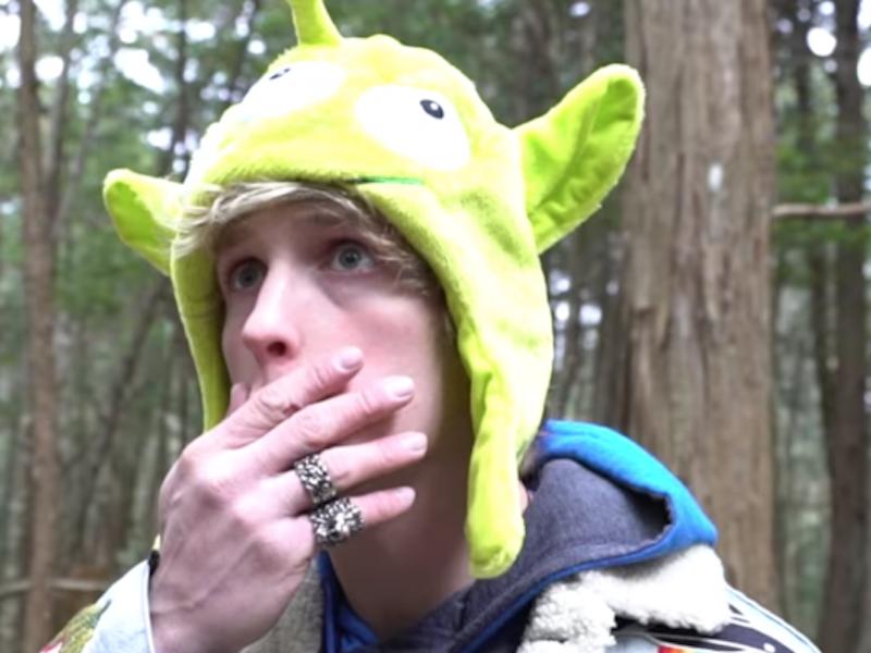 YouTube Star Logan Paul did what!?