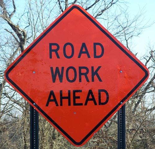 Road Work in Mt. Zion Next Week