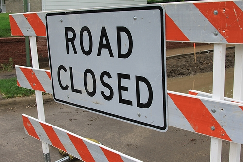 Street Closure Tomorrow Morning