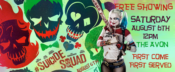 Suicide Squad Free Showing