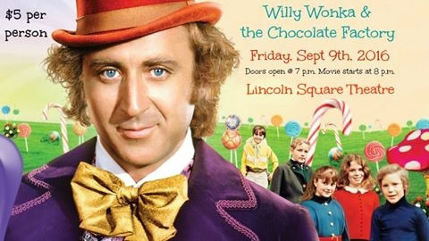 """Lincoln Square Theatre to Pay Tribute to Gene Wilder with """"Wonka"""" Showing"""