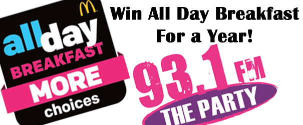 Win All Day Breakfast For A Year!