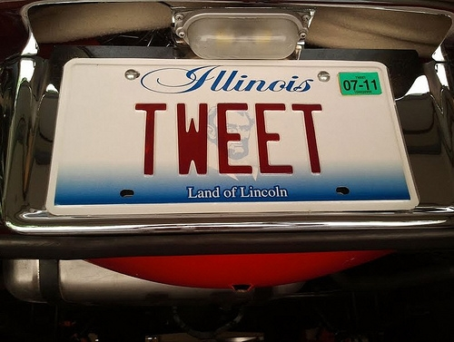 Legislation Filed for New Illinois License Plate