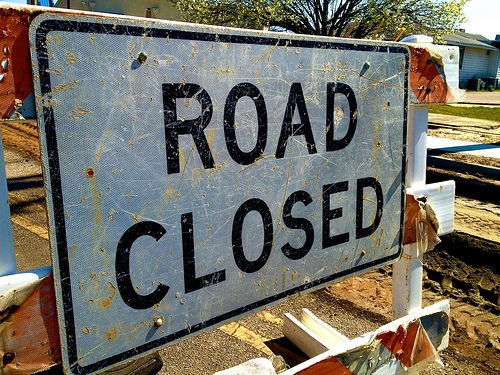 Road Closures Around Twin Forks Wind Farm