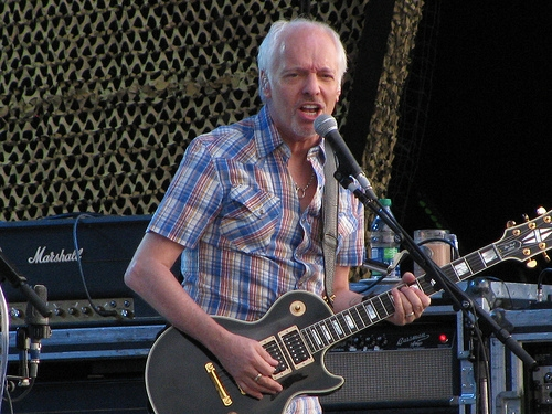 Peter Frampton Performing In Champaign March 30th