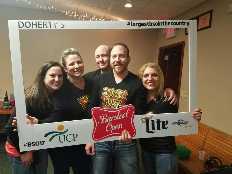 Another Great Turnout for UCP Miller Lite Barstool Open Despite Icy Conditions