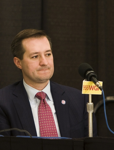 Cubs' Ricketts Says You Don't Turn Down Presidential Invitations