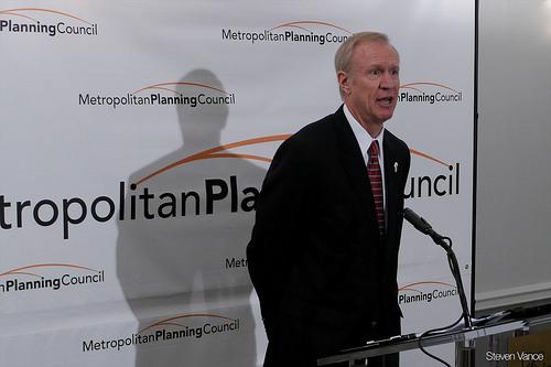 Governor Pushes Proposals During Decatur Visit