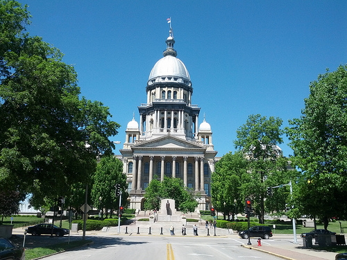 Wall Street Not Downgrading Illinois, Yet