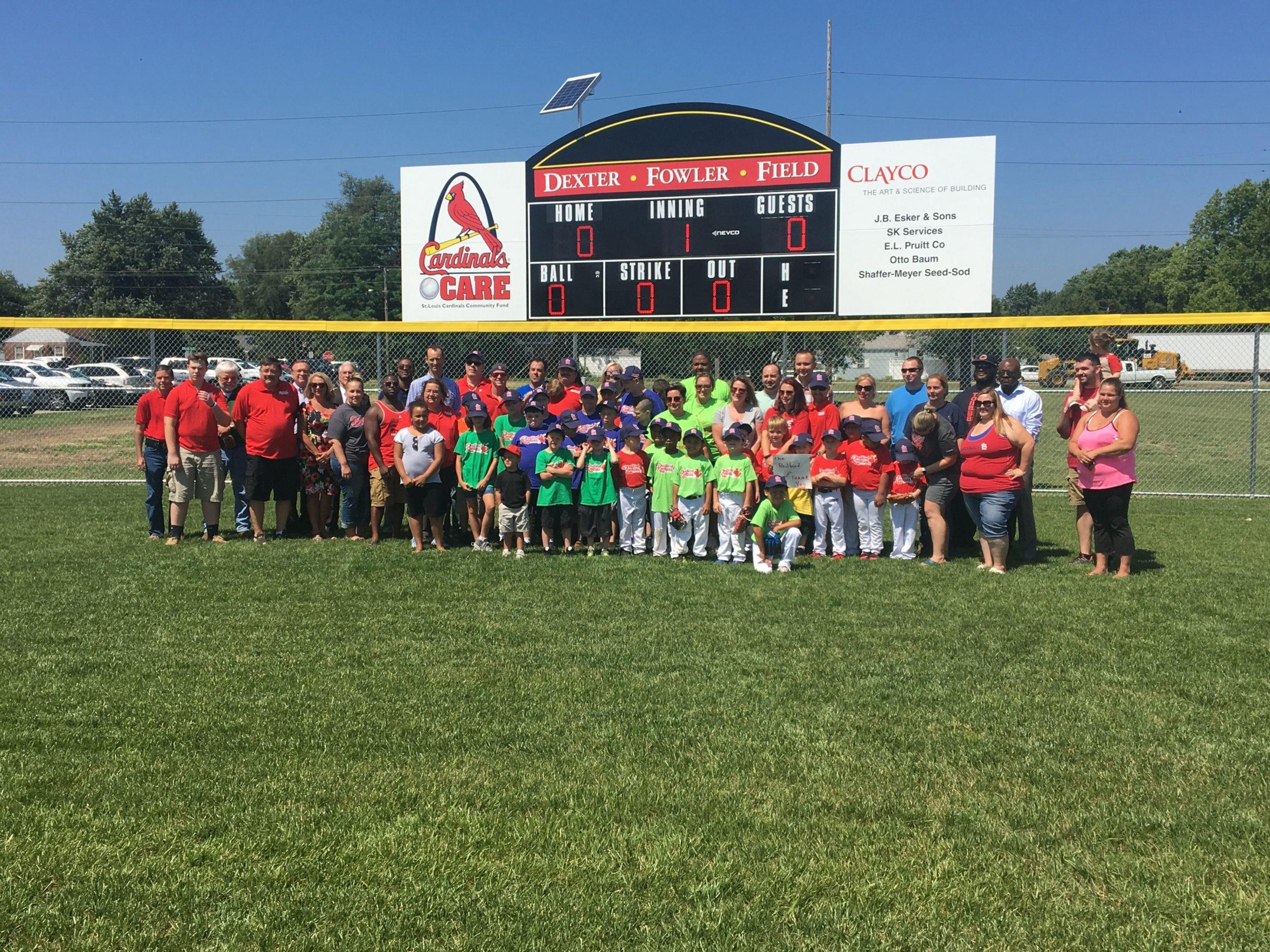 Dexter Fowler Field Dedicated to Redbird Rookies in Decatur