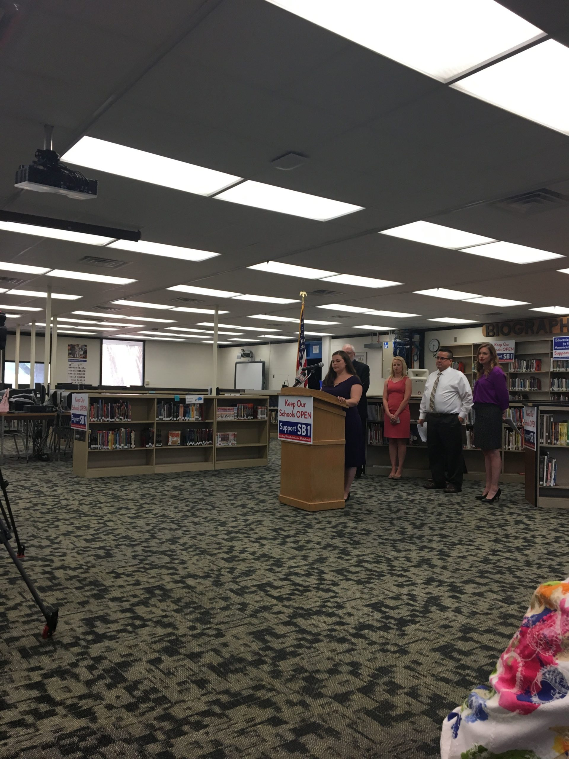 Local School Leaders and Officials want SB1