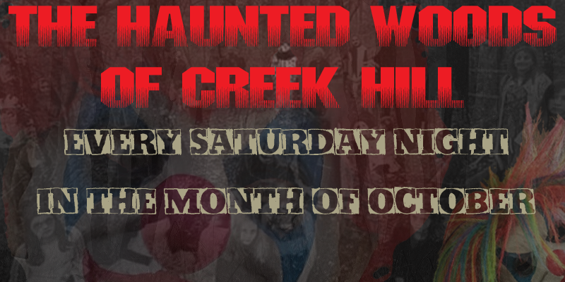 Haunted Woods of Creek Hill