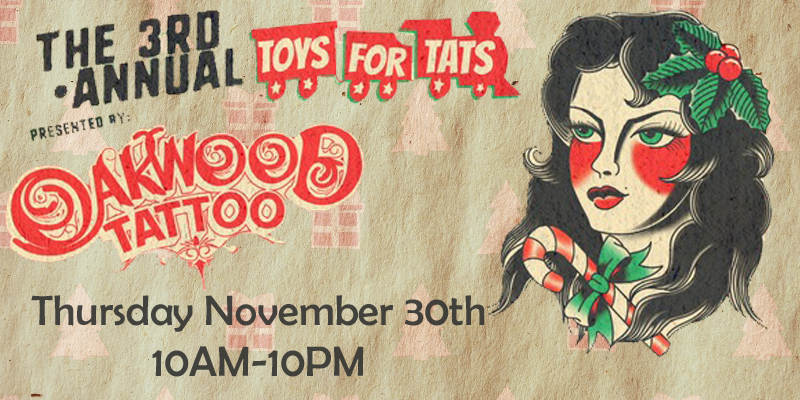 3rd Annual Toys For Tats