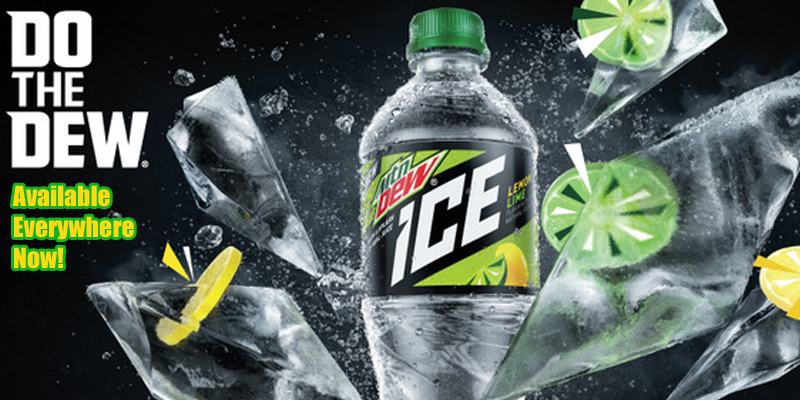 Mt Dew Ice Is HERE!