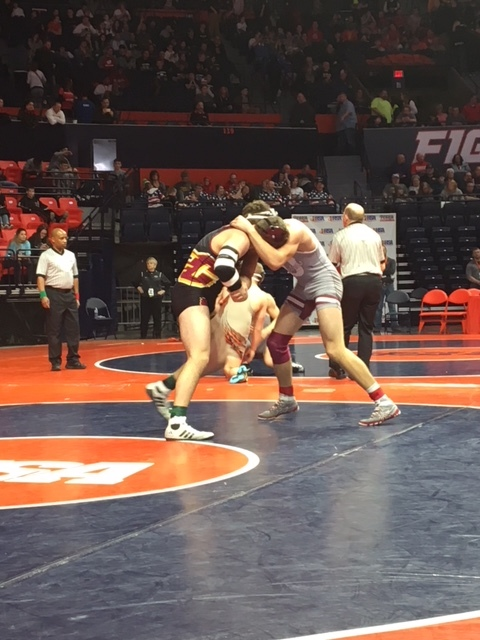 Class 1A State Wrestling Recap -- Day One