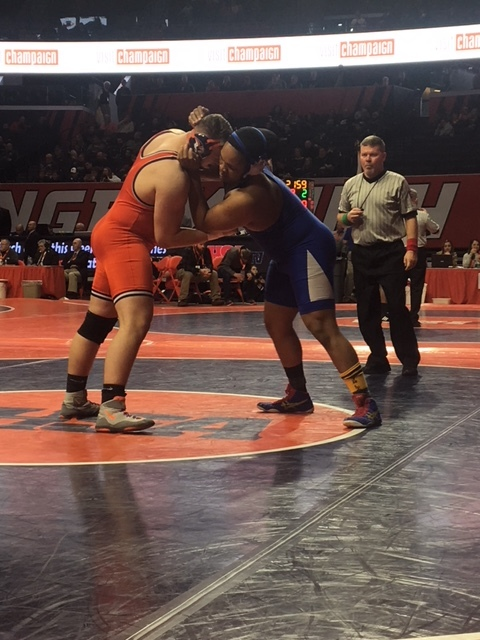 Area Class 1A & 2A State Wrestling Semifinal Results