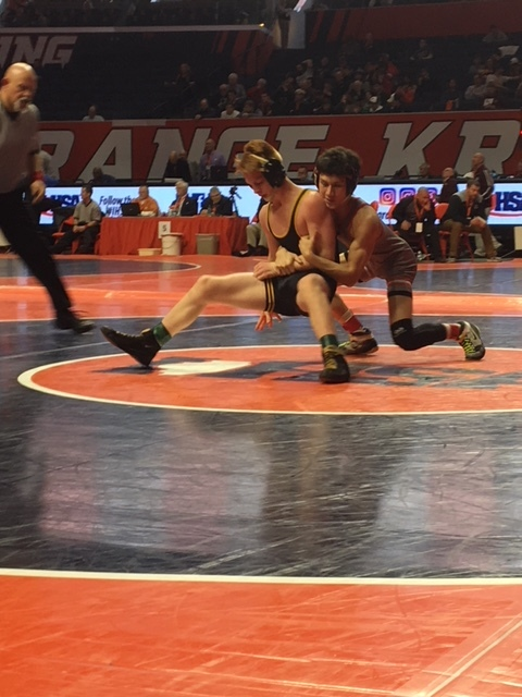 Class 2A Area State Wrestling Results — Day One