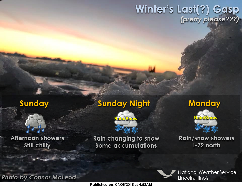 Illinois Bracing For One More Wintry Weekend