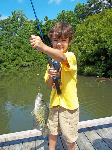 Decatur Park District Hosts IDNR Fishing Clinics