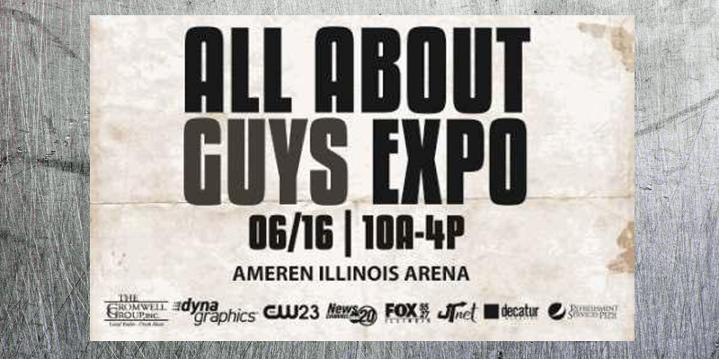 Feature: http://www.decaturciviccenter.org/events/358/all-about-the-guys-expo