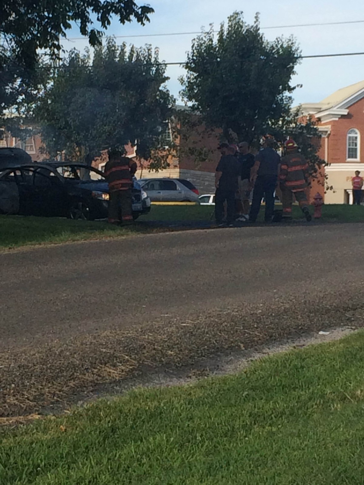 Vandalia Fire handled car fire Friday afternoon