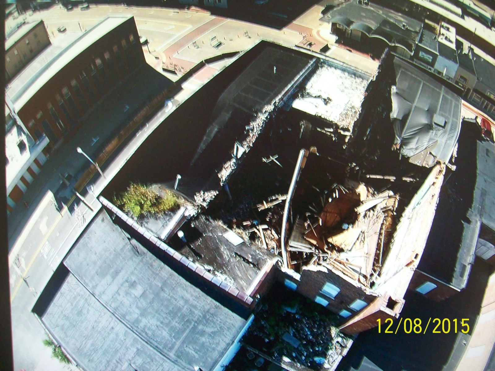 New Video of collapsed buildings taken by Fayette Co Sheriff's Drone