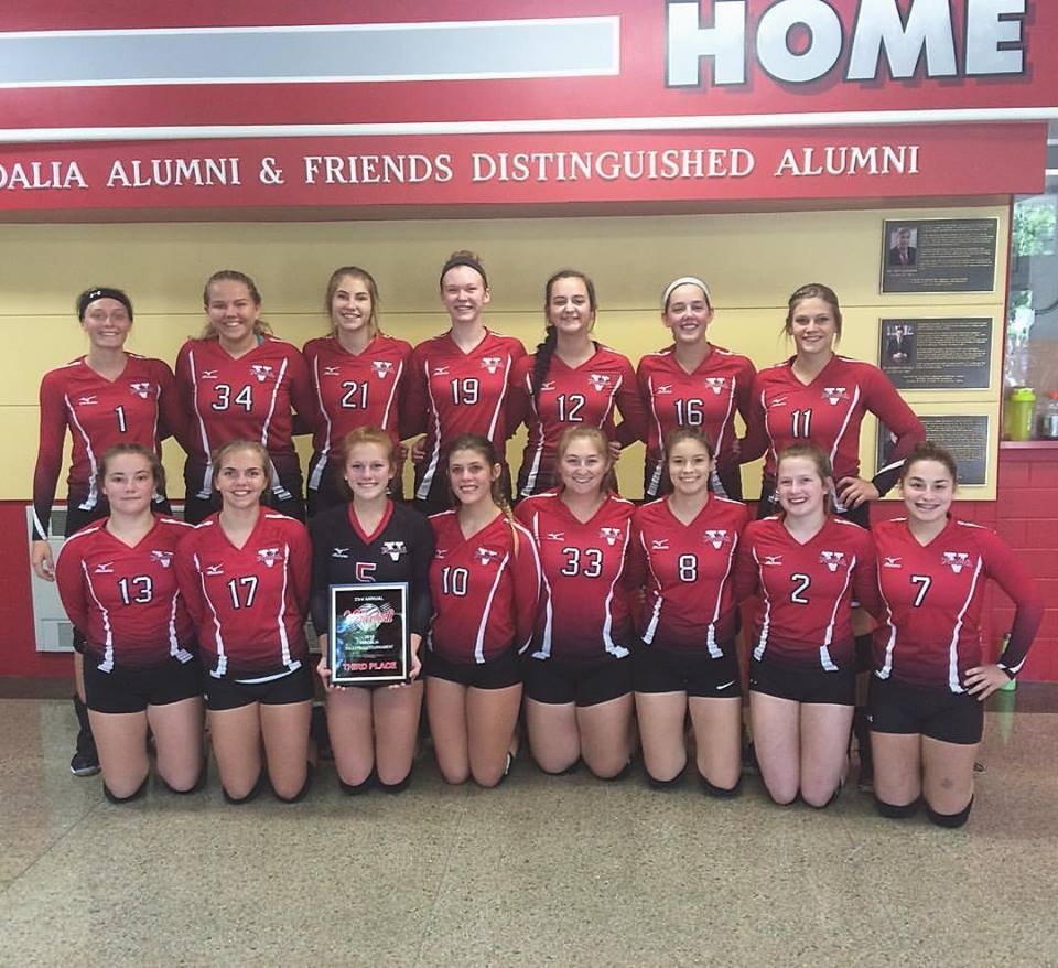 Lady Vandals volleyball take 3rd place in their own Tournament Saturday