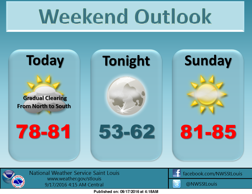 After a wet Friday night, we should dry out for the weekend