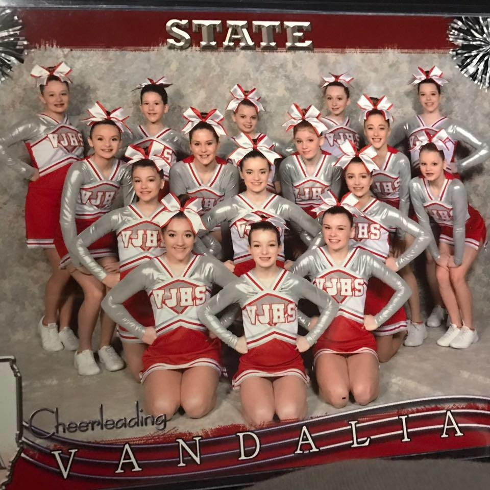 VJHS Cheerleaders bring home 3rd place at state cheer competition