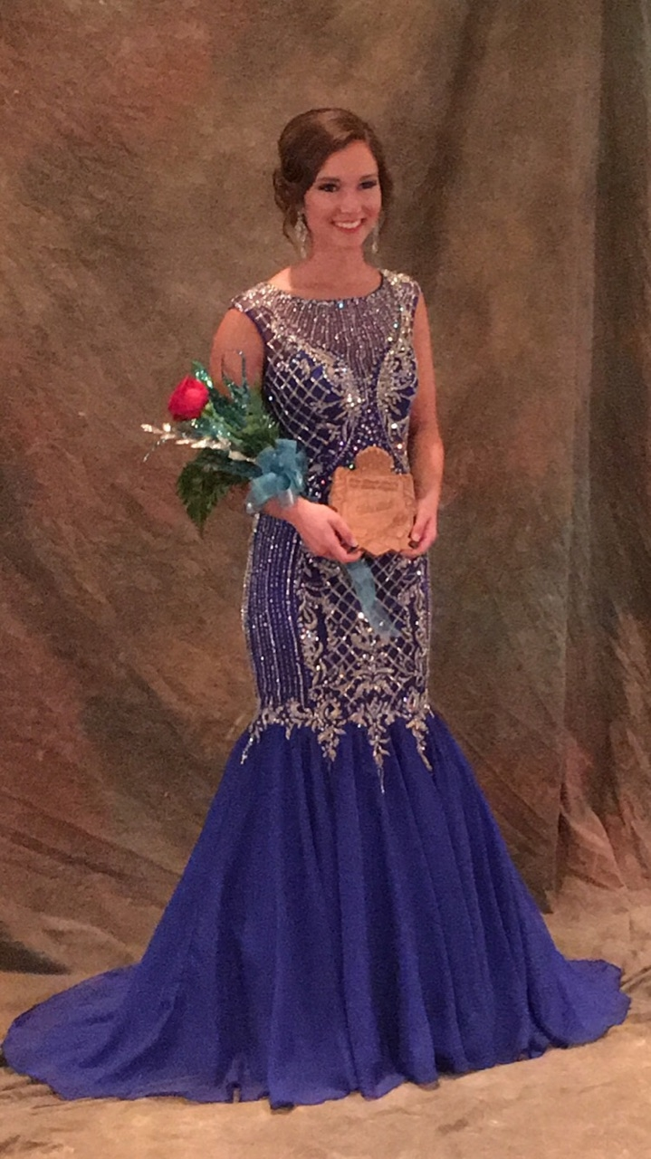 Miss Fayette County Brandy Protz with Top 15 Finish at State Competition