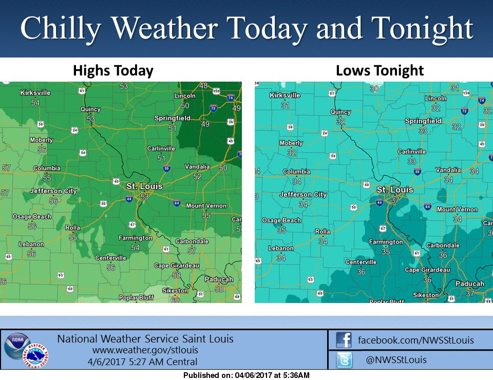 Chilly and Windy today, maybe some overnight Frost