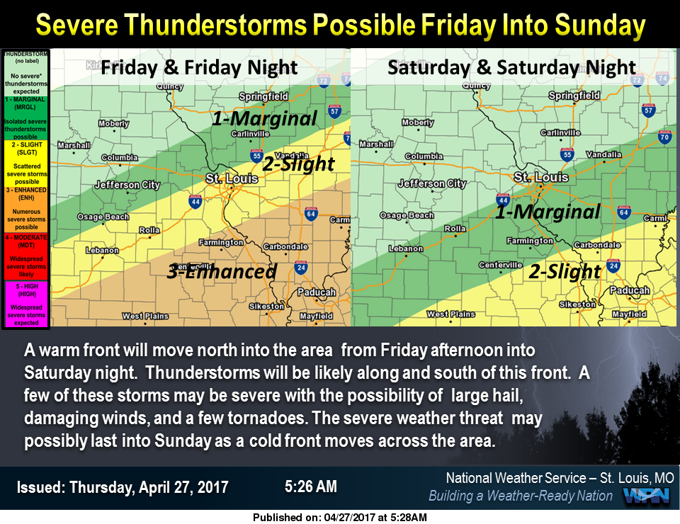 With Heavy Rains to Follow, Severe Storms possible over the area for tonight