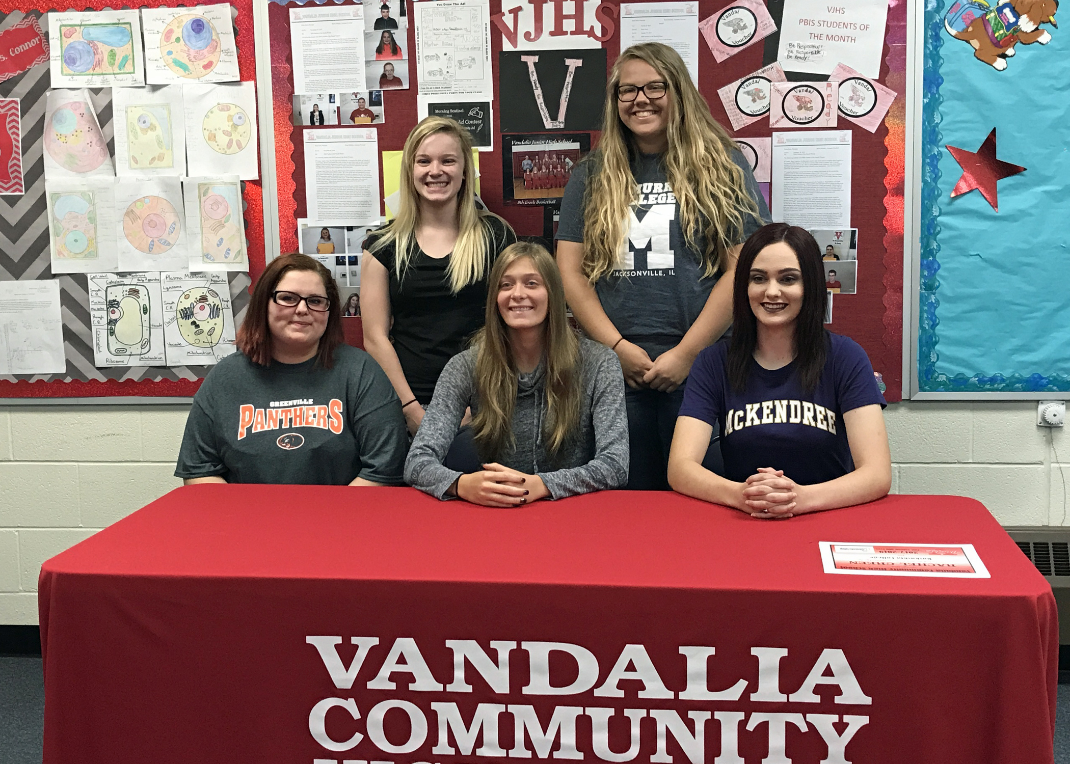 VCHS Holds Academic Signing Day