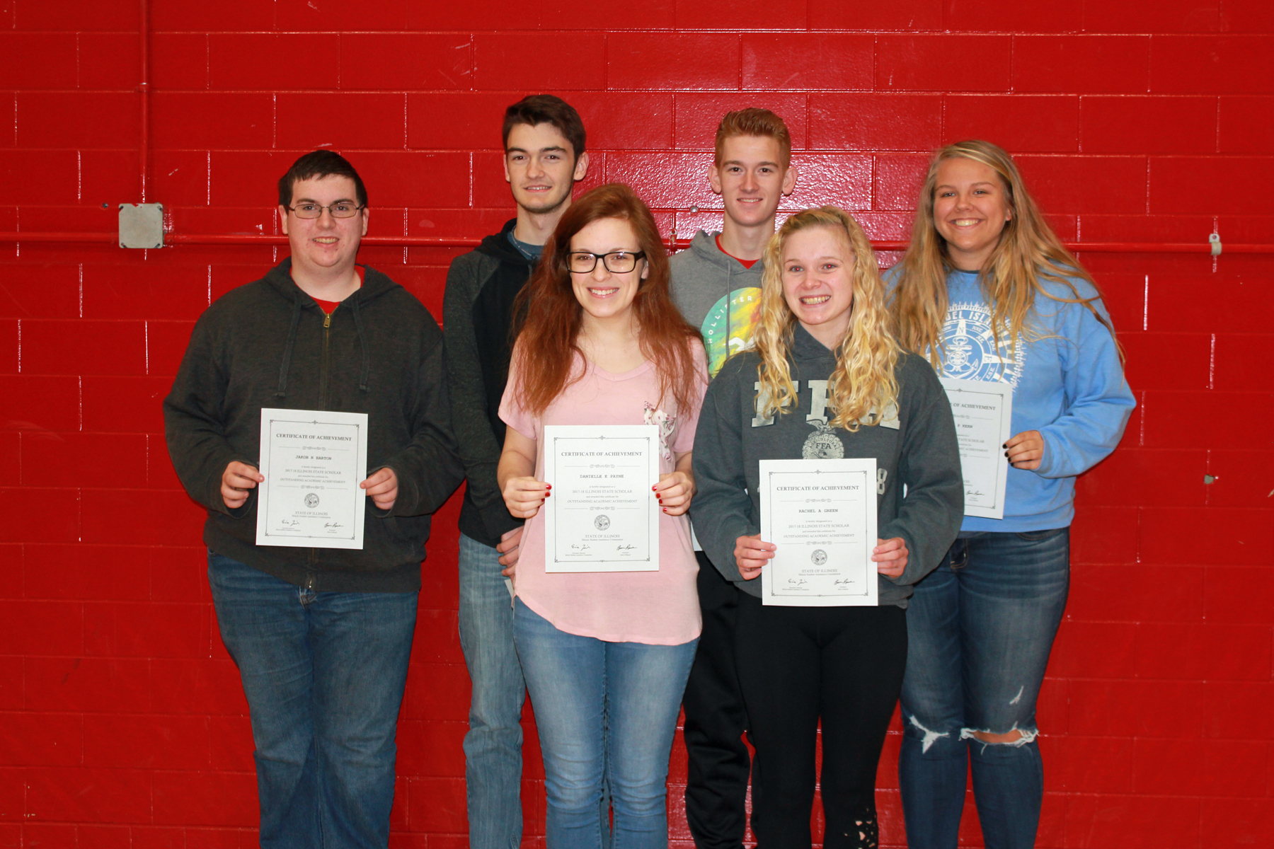 VCHS Holds Awards Day