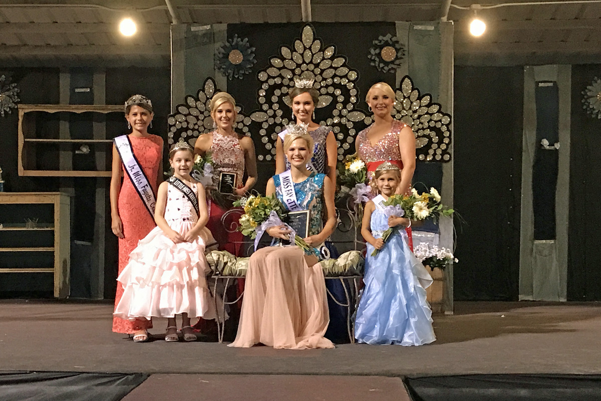 Miller Crowned Miss Fayette Co Fair Queen, Burns Names Little Miss