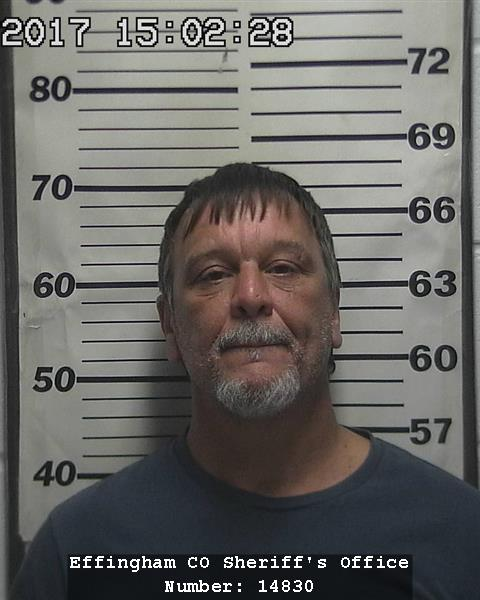 Effingham man sentenced to DOC time in Fayette Co & Effingham Co Court this week