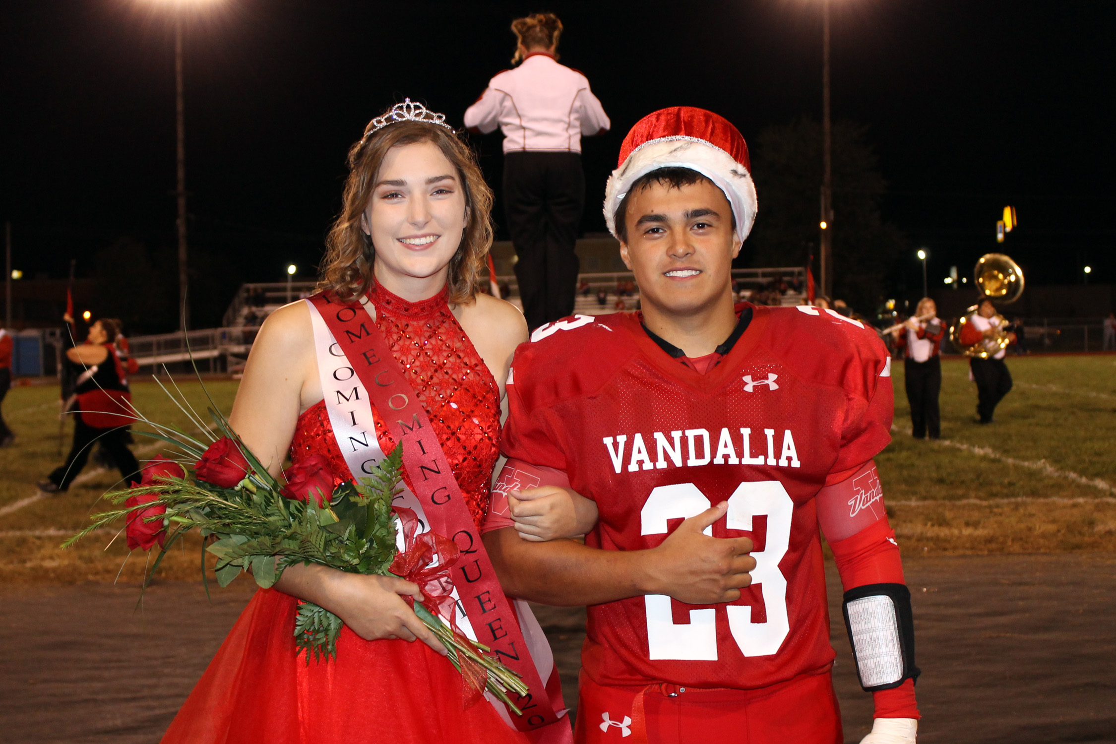 Taylor & Zimmerman VCHS Homecoming King and Queen for 2017