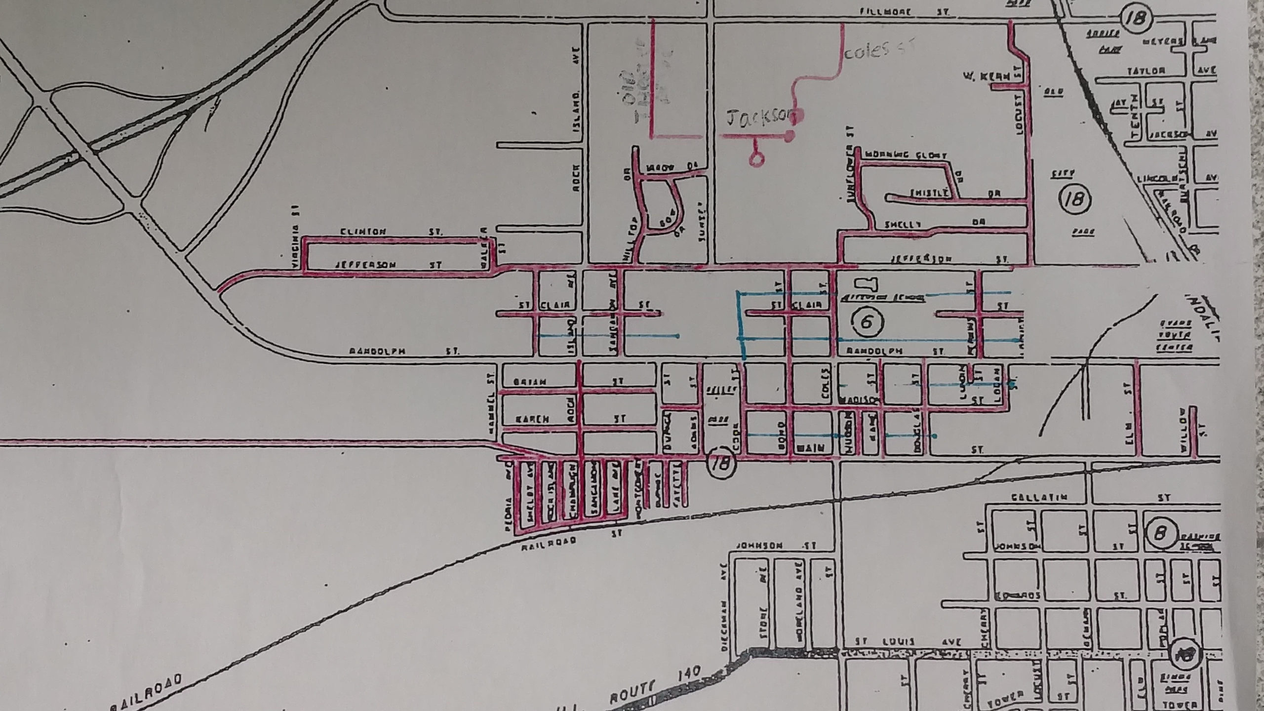City of Vandalia will begin Oiling Streets On Tuesday, September 5th