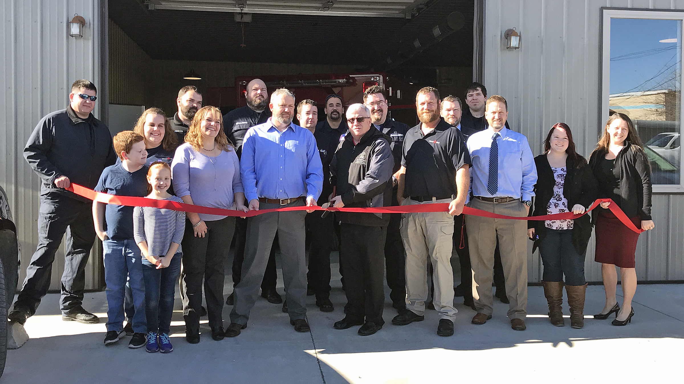 Rural Med EMS Holds Ribbon Cutting