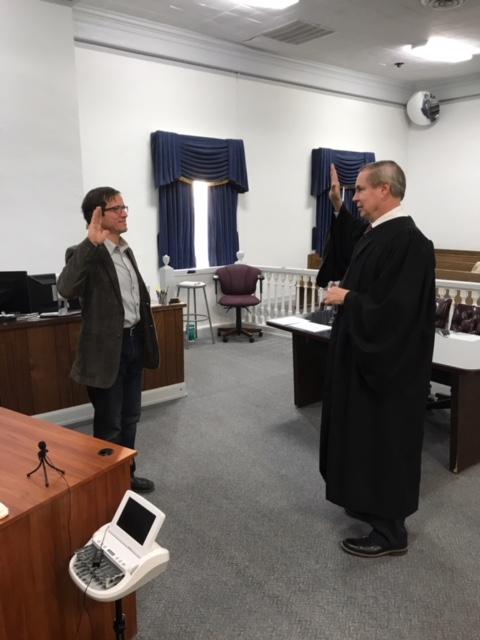 New Coroner Hejl sworn in on Friday morning