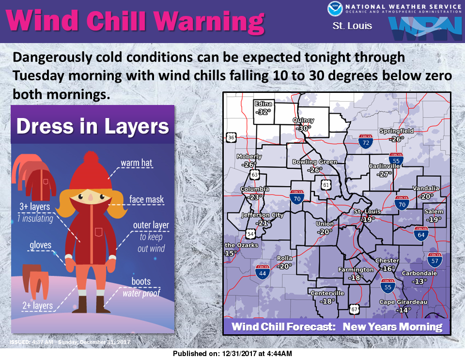 Extreme Cold remains for today and tonight