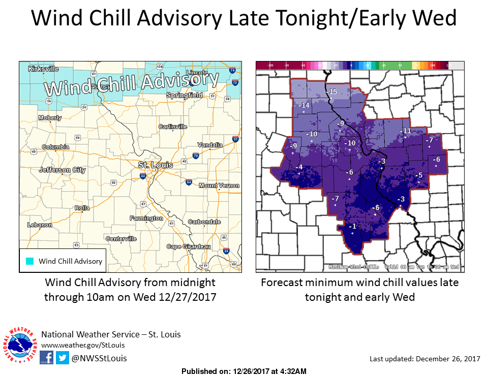 Bitterly Cold today, single digit temps and below zero wind chills tonight