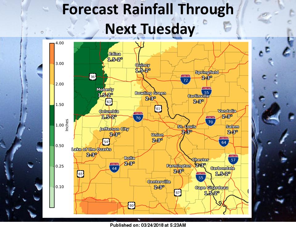 Rain for Today & Tonight