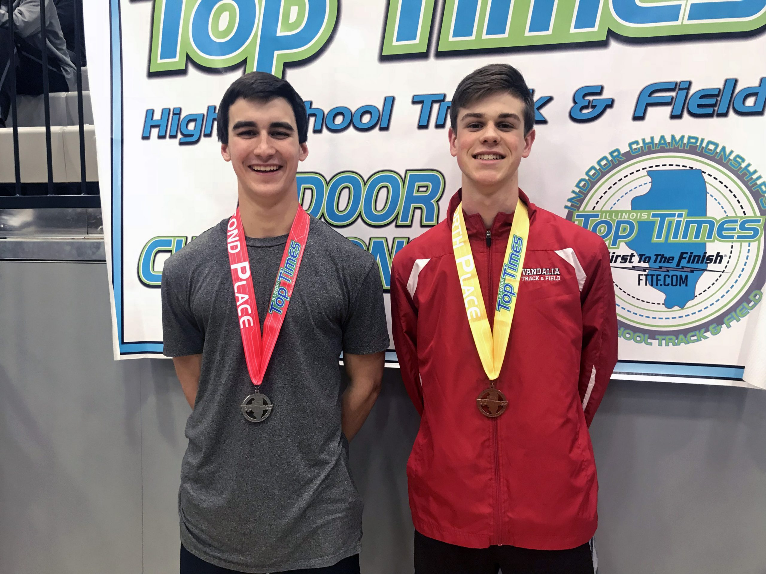Vandals Track with 2 Medalists at Illinois Top Times Meet