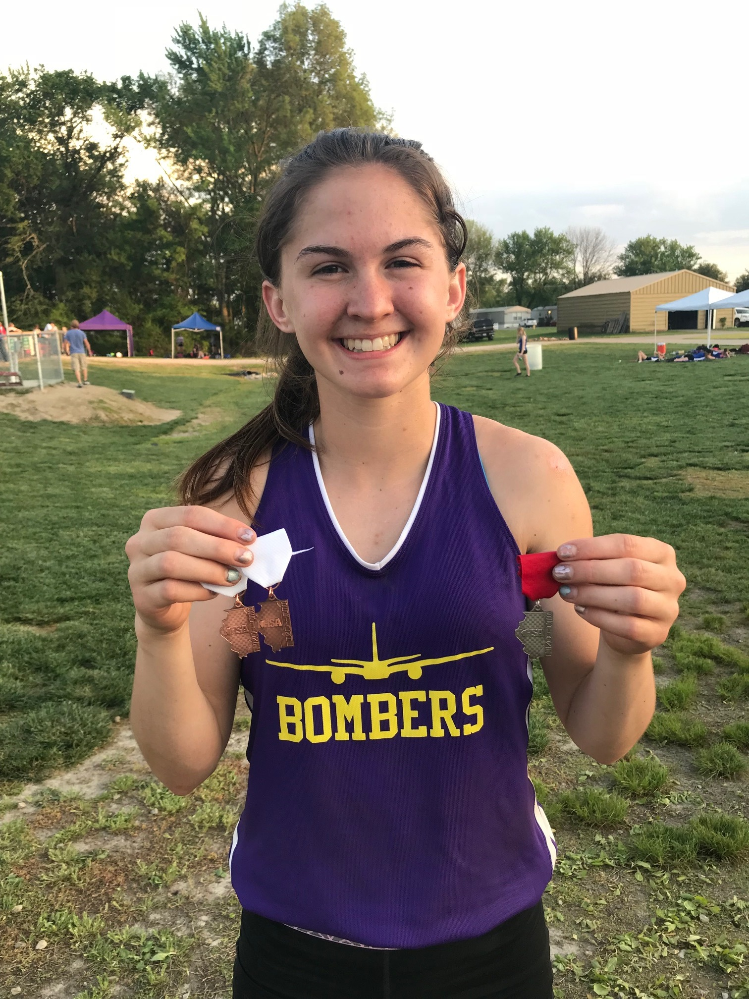 BSE's Claire Wilhour advances to state in 300m Hurdles
